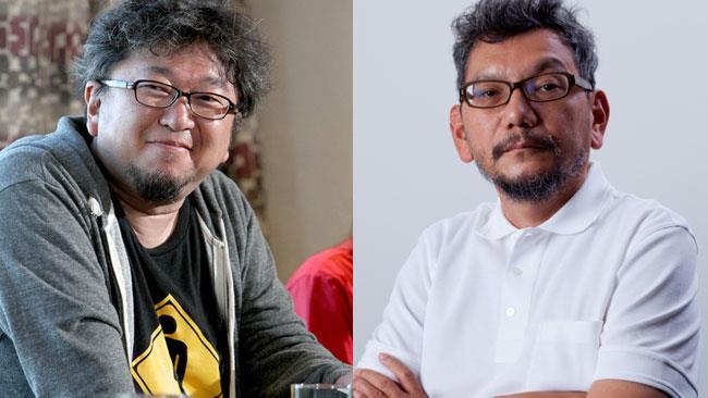 I registi Shinji Higuchi e Hideaki Anno