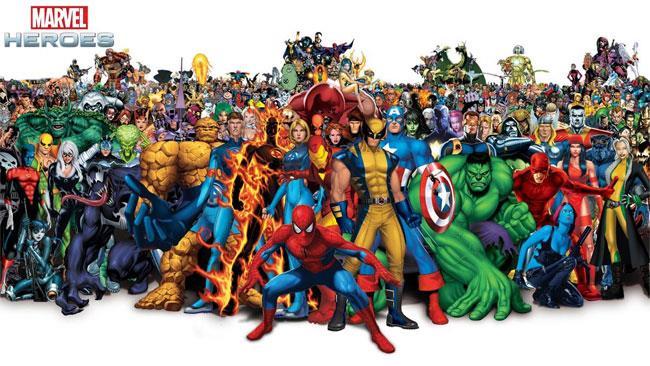 Marvel e i suoi supereroi