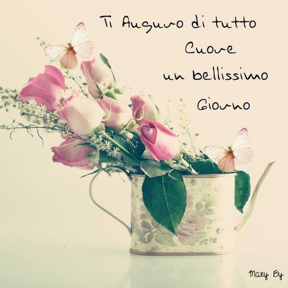 Buongiorno margherita fiori d 0 auguri e saluti buongiorno for Biglietti di buongiorno