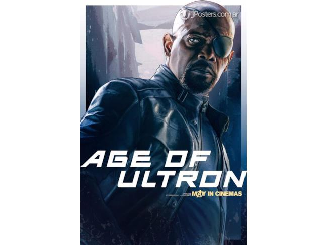 Nick Fury Age of Ultron Poster