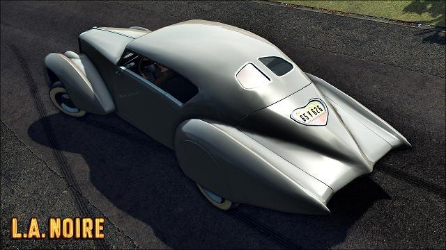 Una delle automobili presenti in L.A. Noire