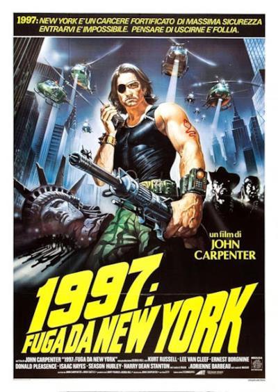 La locandina di 1997: Fuga da New York