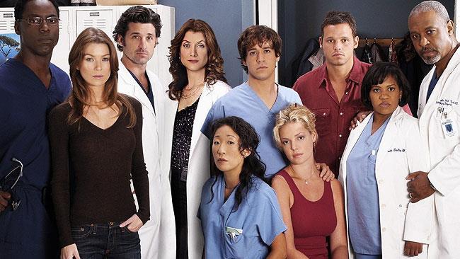 Il cast originale di Grey's Anatomy