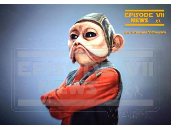 Nien Nunb in Star Wars 7