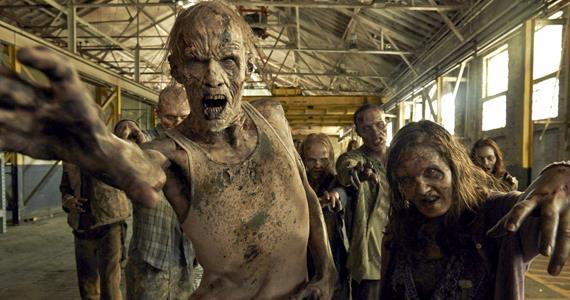 Zombie in The Walking Dead