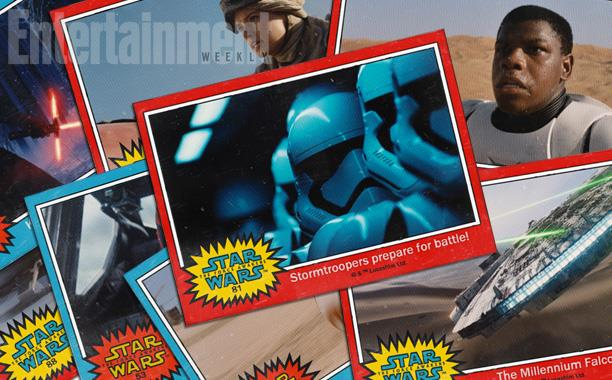 I personaggi di Star Wars 7, sotto forma di figurine