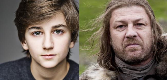 Sebastian Croft sarà il giovane Ned Stark