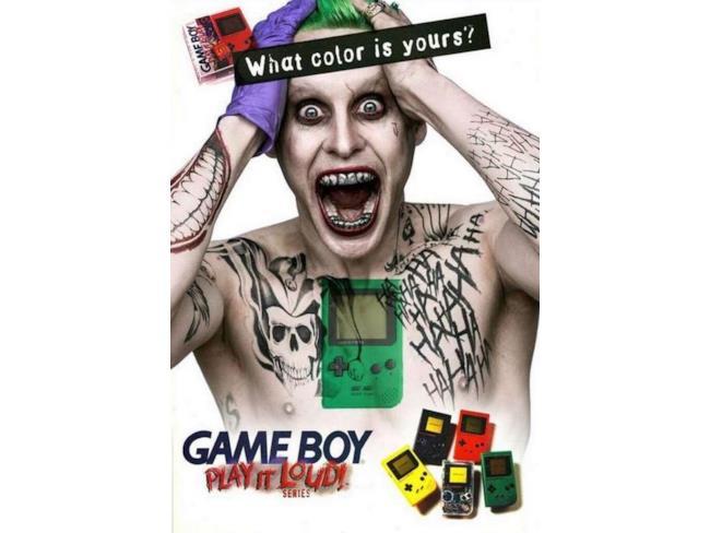 Joker in una pubblicità per Game Boy