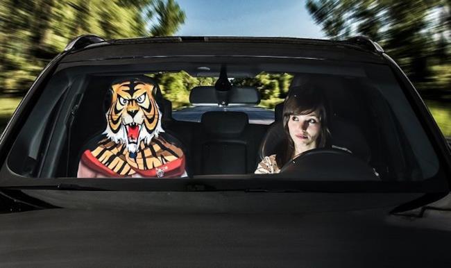 L'Uomo Tigre è tra i soggetti del coprisedile Amico Vip!