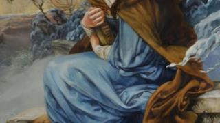 Belle in un'opera d'arte ispirata alle Principesse Disney