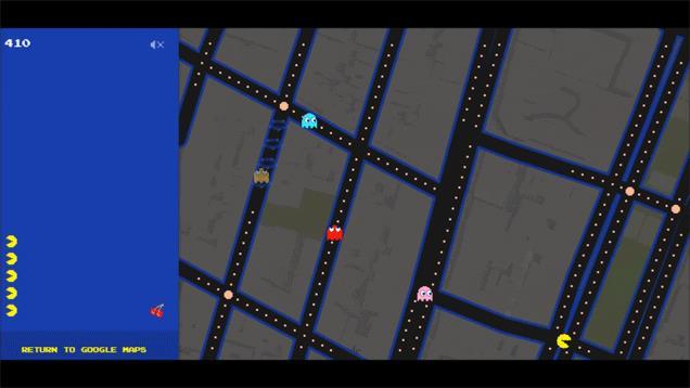 Gioca a Pac-Man su Google