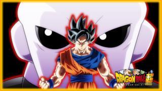 Goku di fronte a Jiren