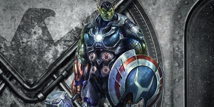 Gli Skrull, razza aliena di prossima apparizione nel MCU.