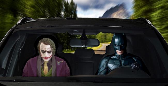 Batman e Joker sono tra i soggetti del coprisedile Il Mio Amico Vip