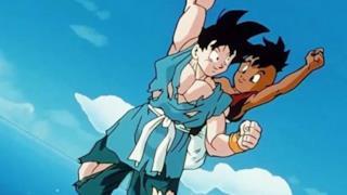 Goku e Ub nel finale dell'anime