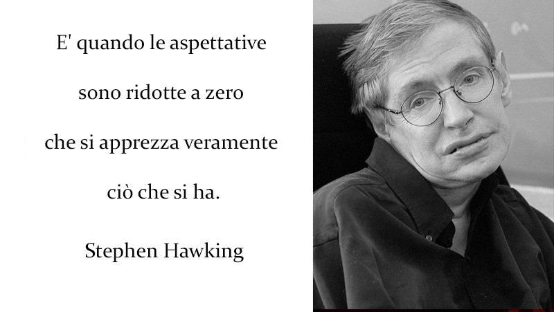 Stephen Hawking e uno dei suoi aforismi più famosi - Le frasi più famose di Stephen Hawking da condividere