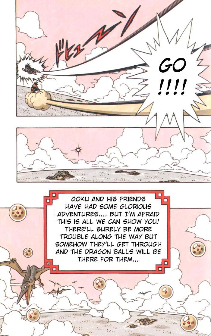 La fine della storia di Goku e compagni