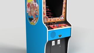 Il cabinet originale di Donkey Kong