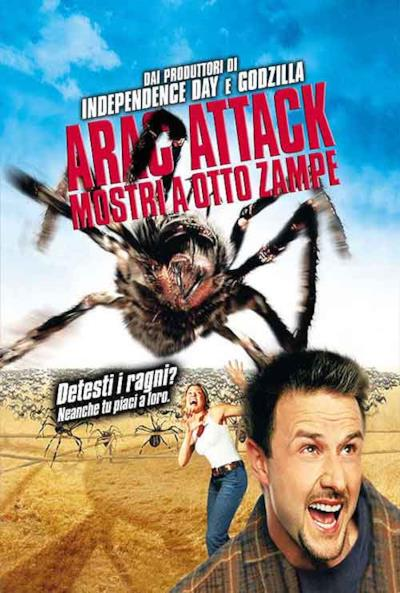 La locandina de Arac Attack - Mostri a otto zampe
