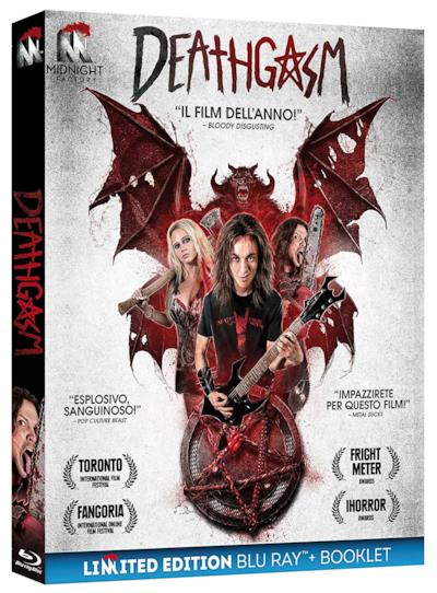 La copertina di Deathgasm
