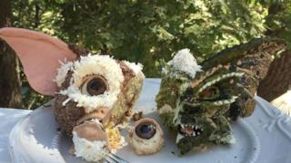 Torte di Gizmo e dei Gremlins mangiate