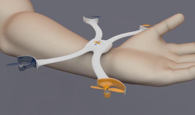 Un'immagine del prototipo di Nixie