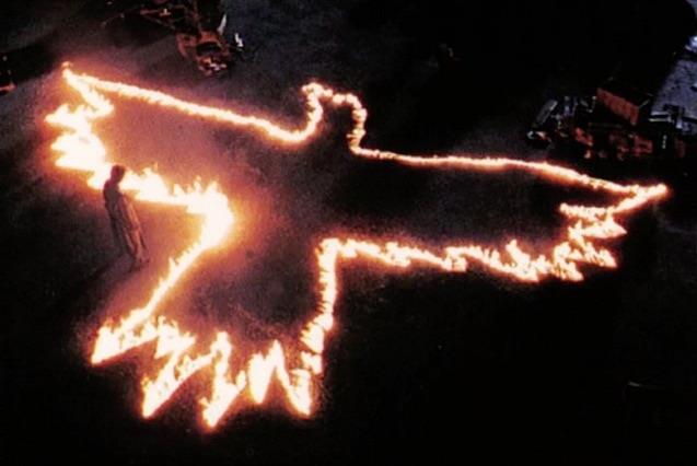 Immagine dal film Il Corvo