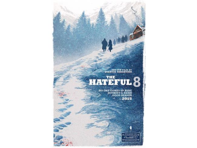 La locandina ufficiale di the Hateful Eight