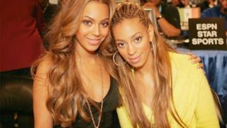 Beyoncé e la sorella di lei