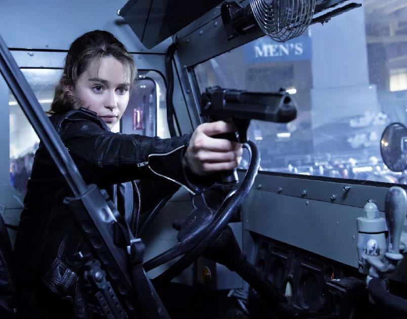 Emilia Clarke in Terminator: Genisys