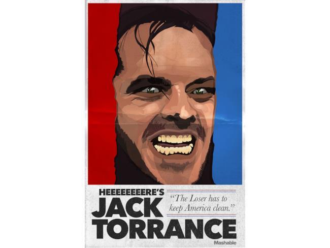 Jack Torrance tra i protagonisti horror candidati alle elezioni