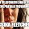 ha telefonato e ha detto che passa a trovarmi... Jessika Fletcher....