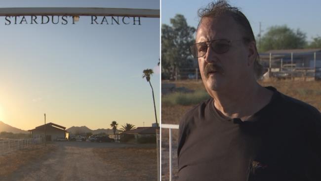 John Edmonds e il suo ranch