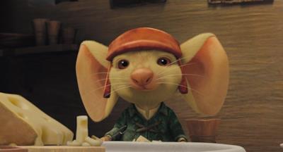 Un topo con grandi orecchie