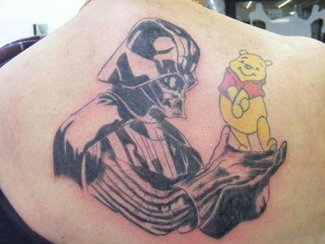 Darth Vader e Winnie The Pooh