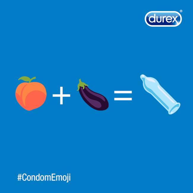 Campagna Durex #CondomEmoji