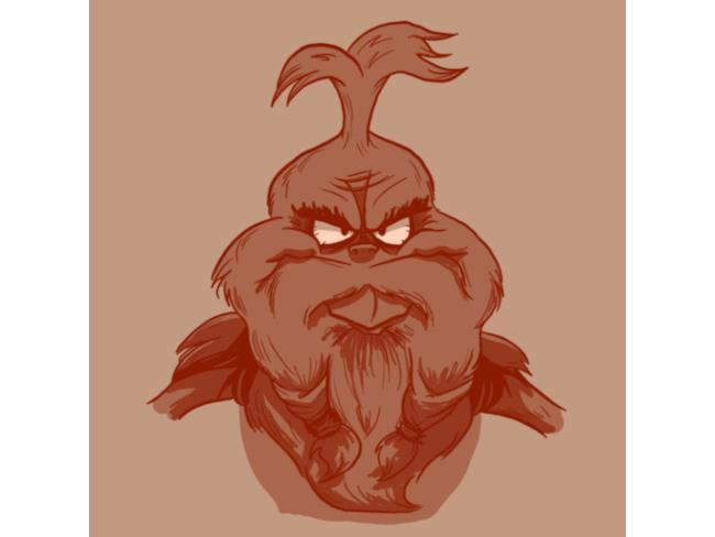 Il Grinch barbuto