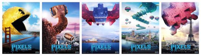 I giochi contro gli alieni di Pixels iniziano il 29 luglio 2015
