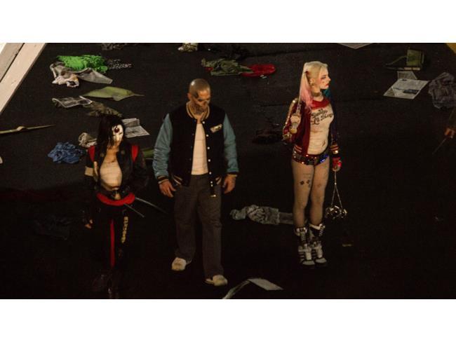 Katana, El Diablo e Harley Quinn in Suicide Squad