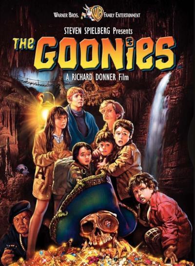 La locandina de I Goonies