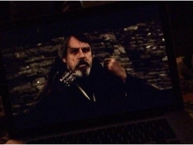 Prima immagine di Luke Skywalker in Star Wars 7