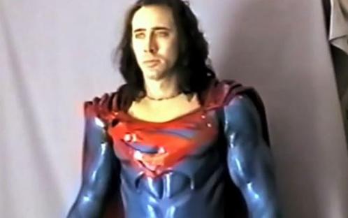 Che ne pensi di Nicolas Cage nel ruolo di Superman?