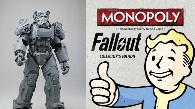 Il Monopoly ufficiale di Fallout 4 a la Power Armor