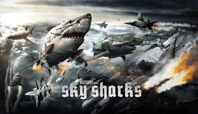 Sky Sharks potrebbe diventare vero grazie a una campagna Kickstarter