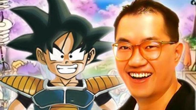 Il grande Akira Toriyama sorride