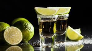Uno shot di tequila