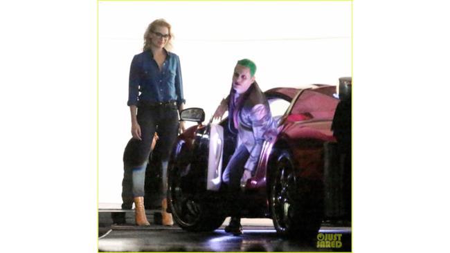 Harley Quinn e il Joker sul set di Suicide Squad