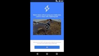 La schermata di Instant Videos