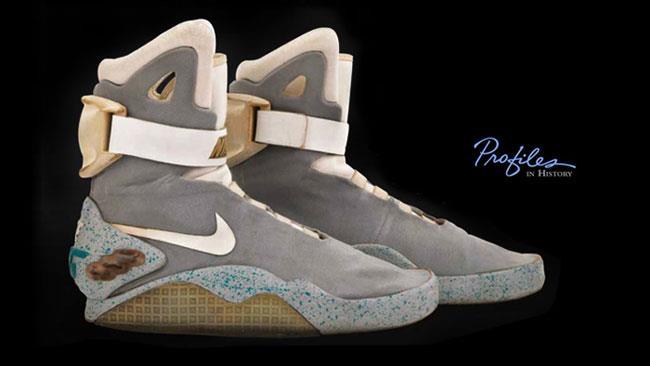 Le scarpe originali di Ritorno al Futuro