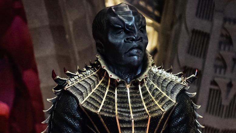 Un'immagine del temibile guerriero Klingon